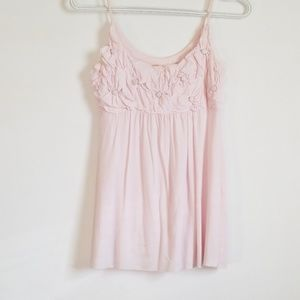 Bailey 44 Pink Floral tank Top